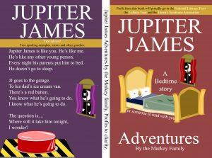Jupiter James Adventures James Markey Full Cover